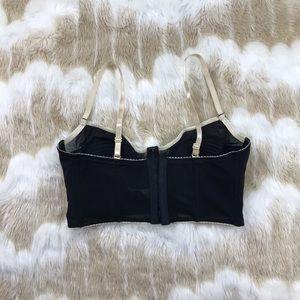 Intimates & Sleepwear - Teal bustier corset lingerie 36D